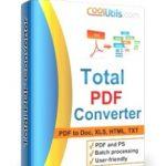 Coolutils Total PDF Converter Full Pdf dönüştürücü