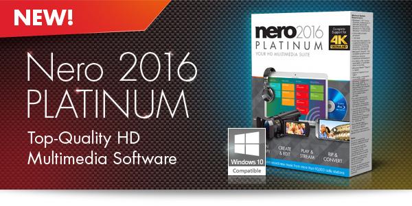 Nero 2016 Platinum Full Türkçe İndir + Content Pack